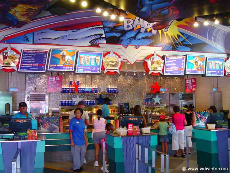 Islands Of Adventure Marvel Super Hero Island Dining