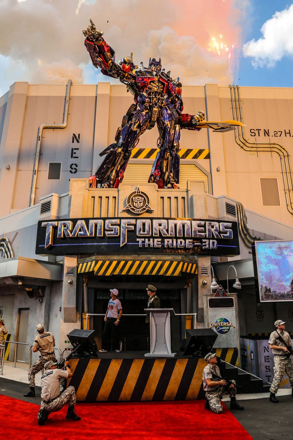Universal Orlando Resort Transformers The Ride 3d
