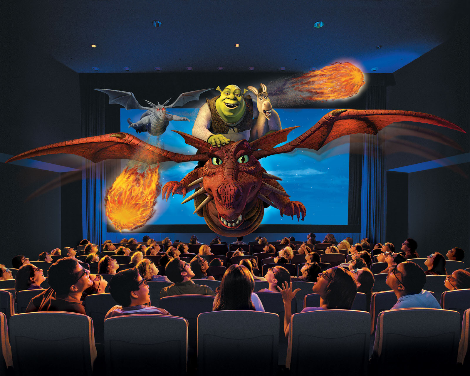 Universal orlando resort shrek 4 d universal orlando for 4d wallpaper for home