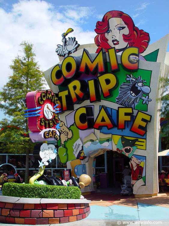 Universal Orlando Resort Toon Lagoon Dining Universal