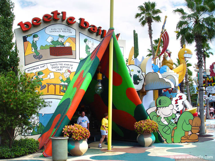 Universal Orlando Resort Toon Lagoon Universal Orlando