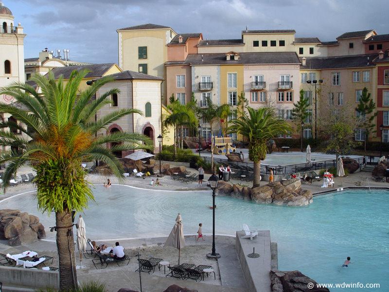 Universal Orlando Resort Portofino Bay Pools Spa