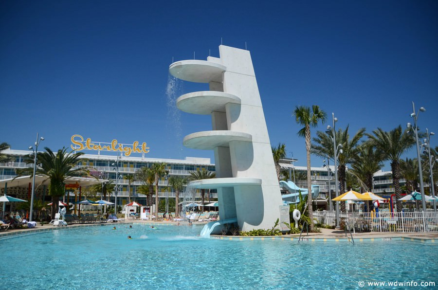 Cabana Bay Pools Recreation Universal Orlando Resorts