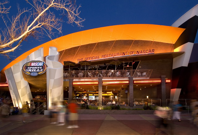 Nascar Sports Grill (Photo: Universal Orlando Resort)
