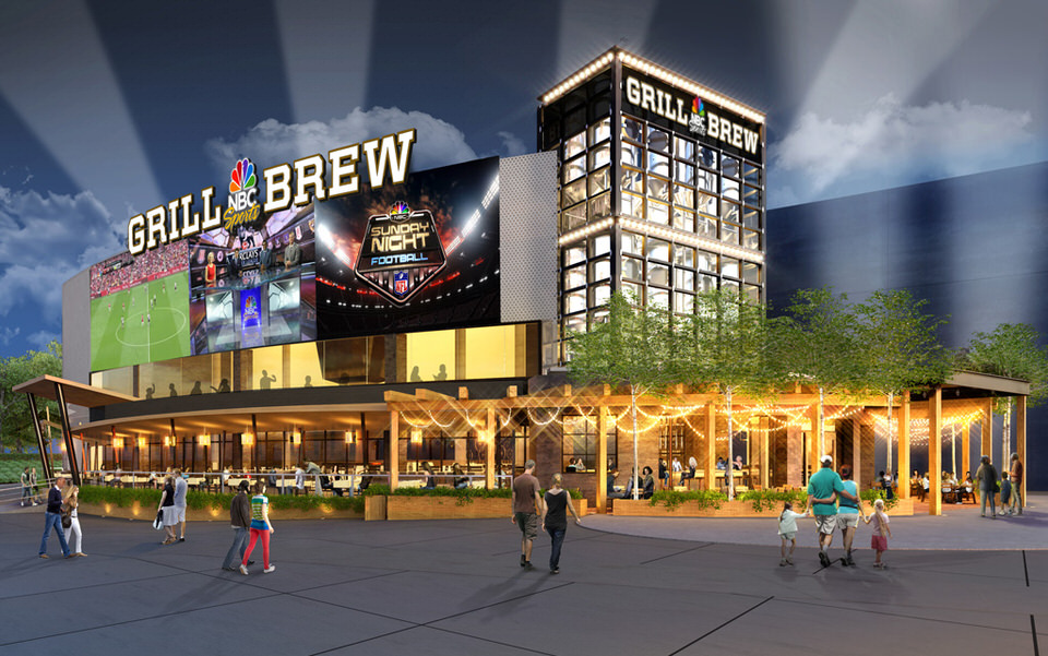 Nbc Sports Grill Brew Coming To Universal Citywalk