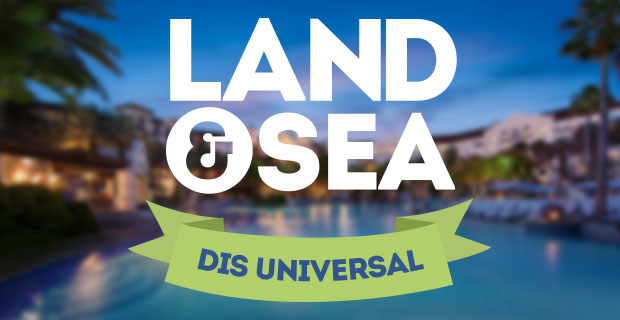 Universal Orlando Land & Sea Coverage