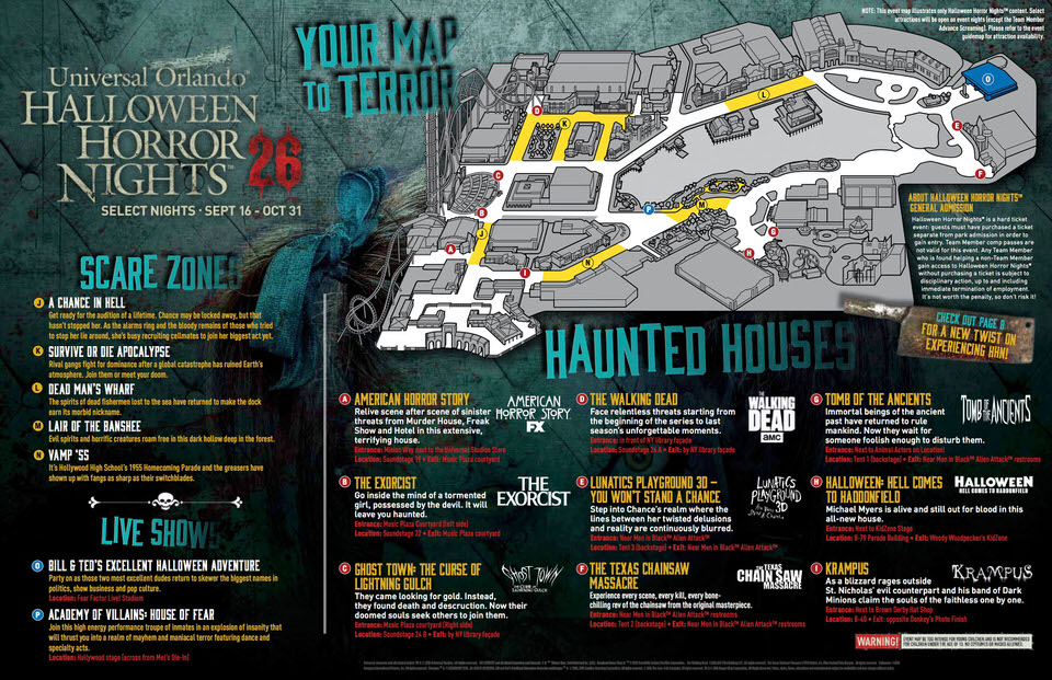 hhn26map 1 - Hours Halloween Horror Nights