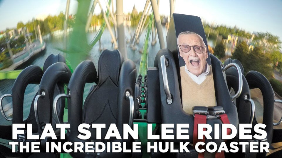 incredible hulk coaster stan lee