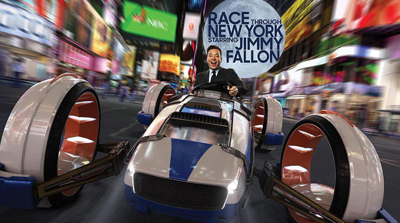 Race Through New York Starring Jimmy Fallon opens April 6