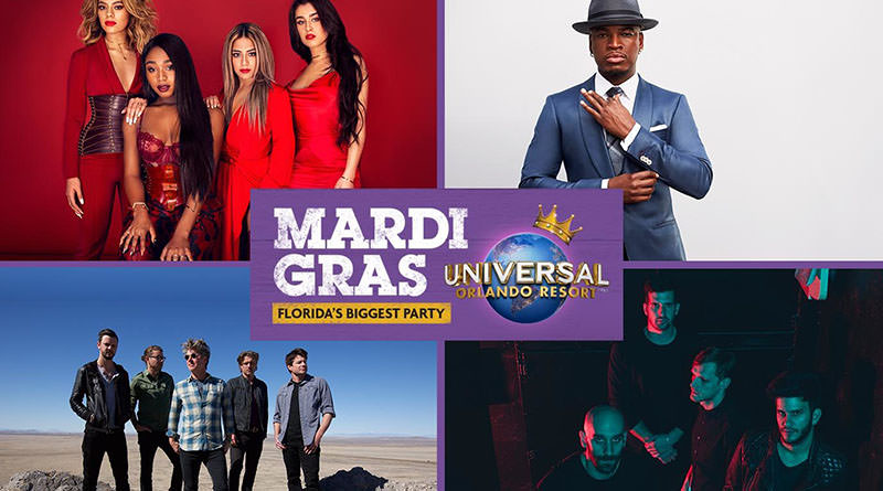 Universal Mardi Gras 2017 Concert Lineup & Parade Changes Announced