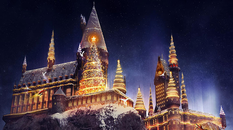 Christmas Is Coming to The Wizarding World for the First Time at Universal Orlando