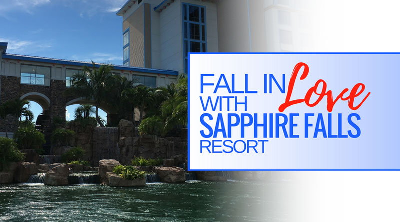 Fall in Love with Sapphire Falls!