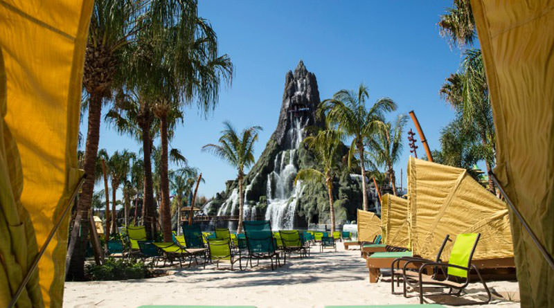 PHOTOS: First Look at Slides, Pools, and Cabanas at Volcano Bay