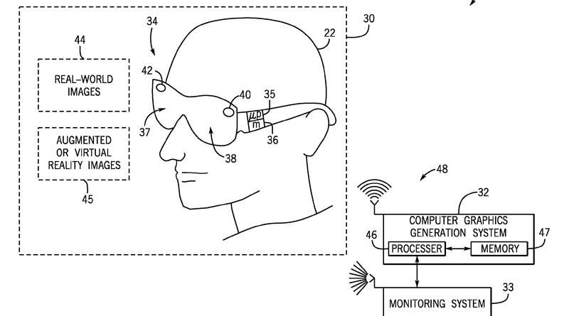 Universal's Newest Patent is for Augmented/Virtual Reality Goggles