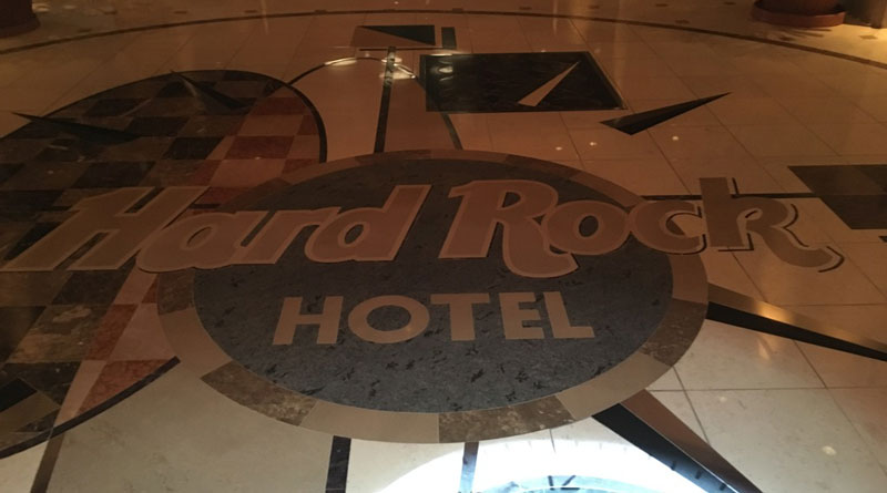 Staying at the Hard Rock Hotel