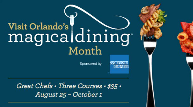 Experience Universal Restaurants During Visit Orlando's Magical Dining Month