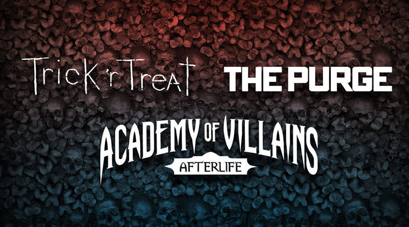 Scare Zones and Academy of Villains Announced for Halloween Horror Nights 27