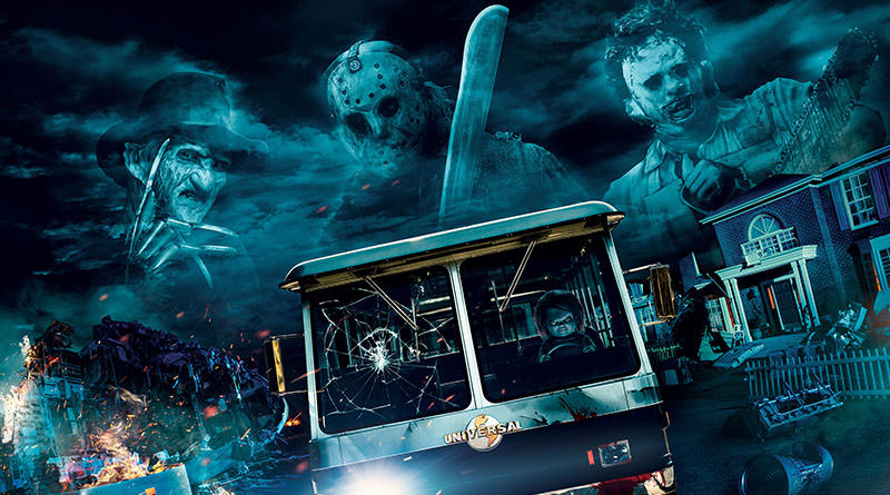 Freddy Kruger, Jason Vorhees, Leatherface, and Chucky Head to HHN in Hollywood