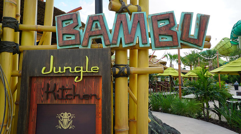 Review: Bambu Jungle Kitchen at Volcano Bay