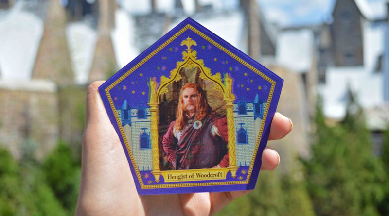 New Chocolate Frog Card Available November 17