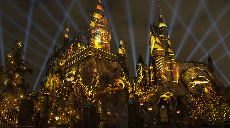 The Nighttime Lights at Hogwarts Castle Debuts in January