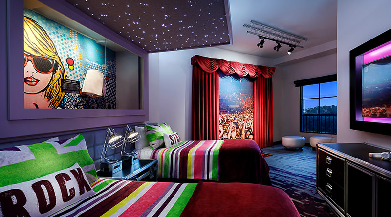 Hard Rock Hotel New 'Future Rock Star Suites' Debut