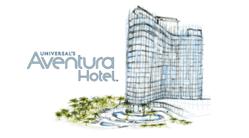 Exterior Design and Amenity Details Released for Universal's New Aventura Hotel