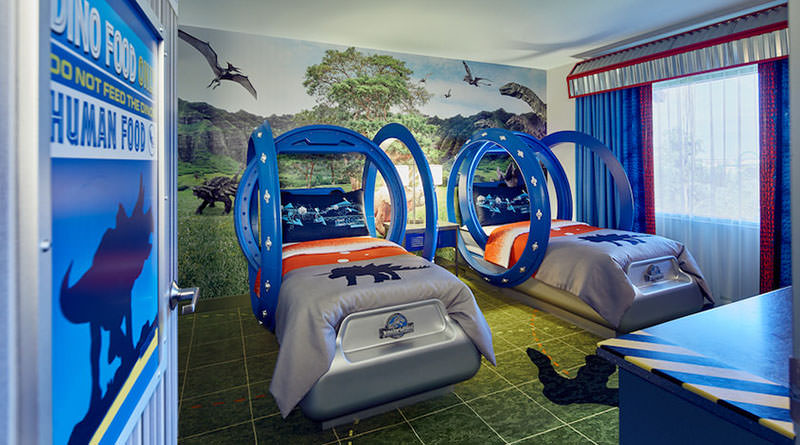 Jurassic World Kids' Suites Will Make Adults Jealous