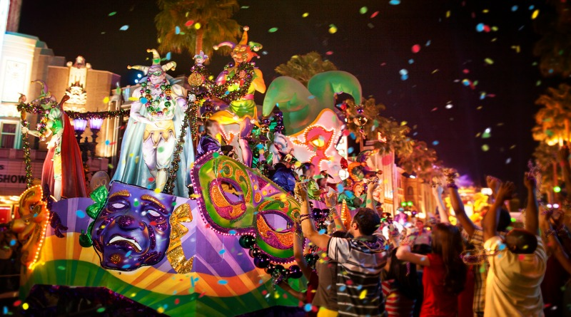 Dates Announced for Universal Orlando Resort's 2019 Mardi Gras
