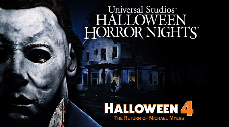 Michael Myers Returns to HHN in Halloween 4: The Return of Michael Myers