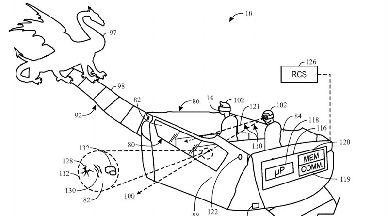 Universal Ride Patents Focus Heavily on Augmented Reality