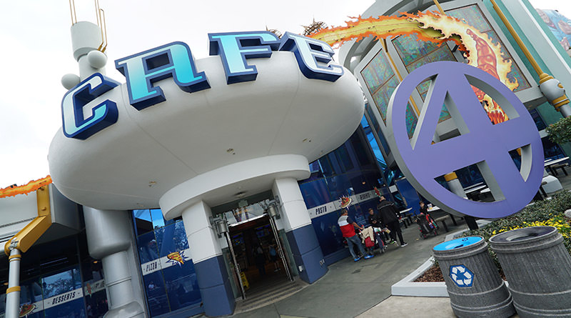 Review: Cafe 4 in Marvel Super Hero Island