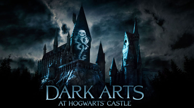Dark Arts Projection Show Coming to Universal Orlando's Hogwarts Castle