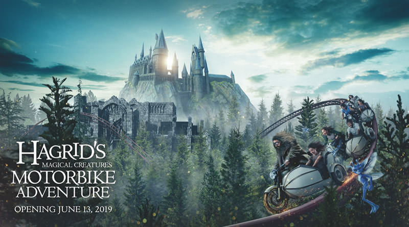 Hagrid's Magical Creatures Motorbike Adventure Opens June 13