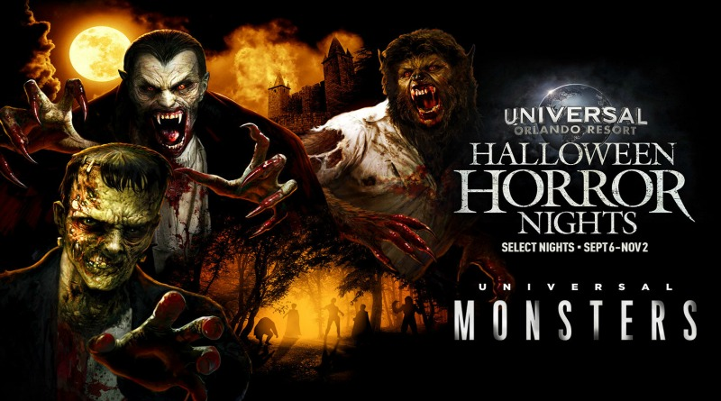 'Universal Monsters' Coming to Universal Orlando's Halloween Horror Nights