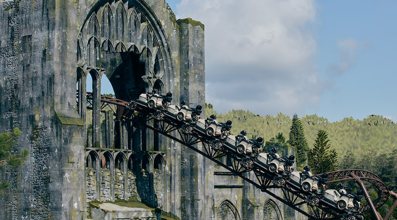 New Photos and Details for Hagrid's Magical Creatures Motorbike Adventure