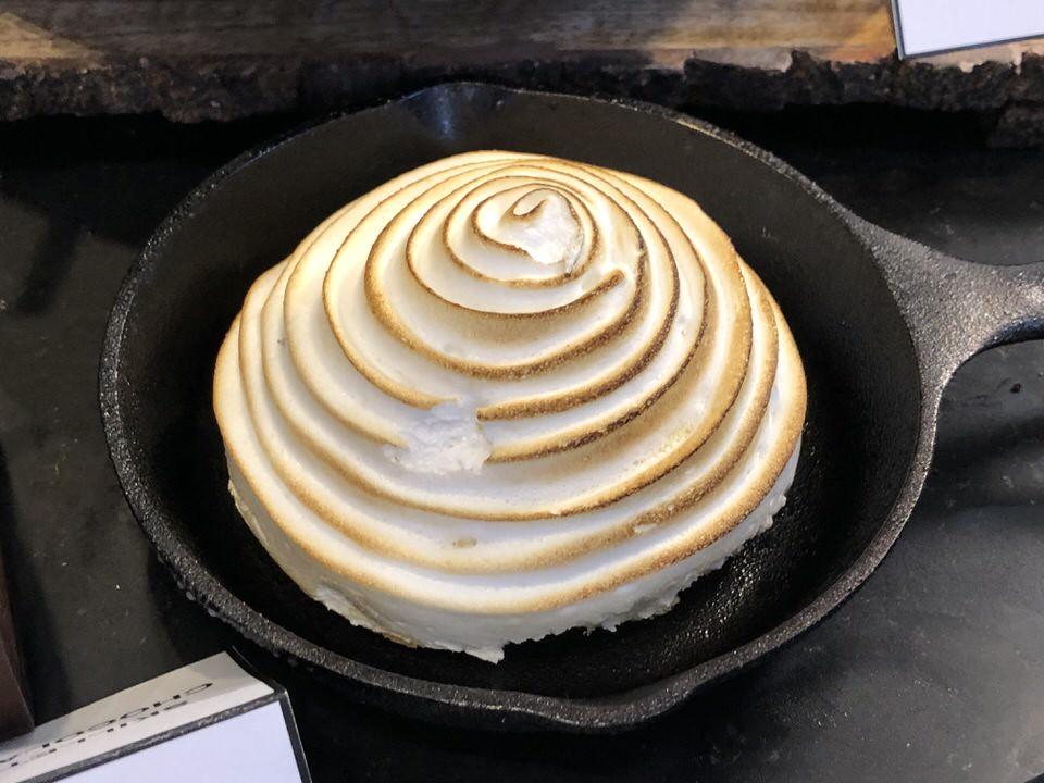 Baked Alaska - $9.00