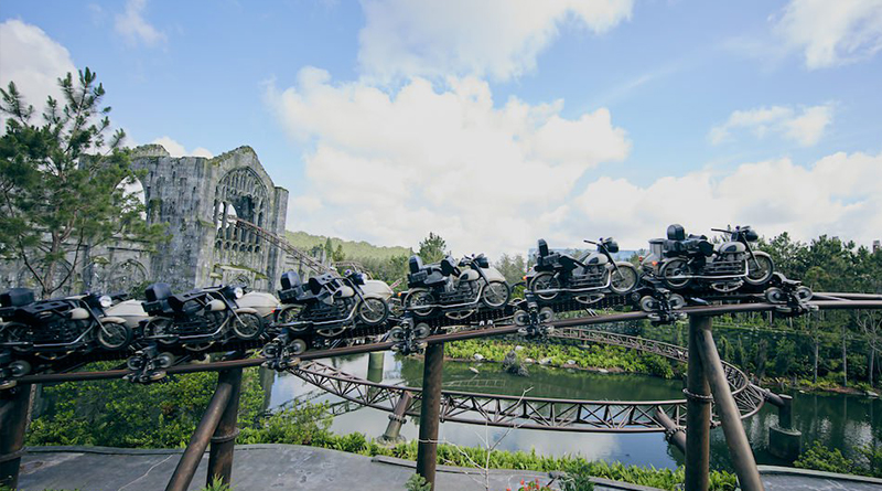 Hagrid's Magical Creatures Motorbike Adventure to Implement Virtual Line