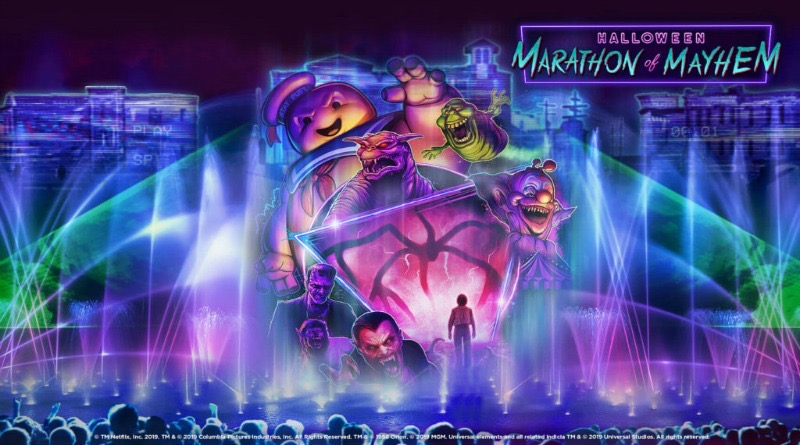 Halloween Marathon of Mayhem Lagoon Show Coming to HHN