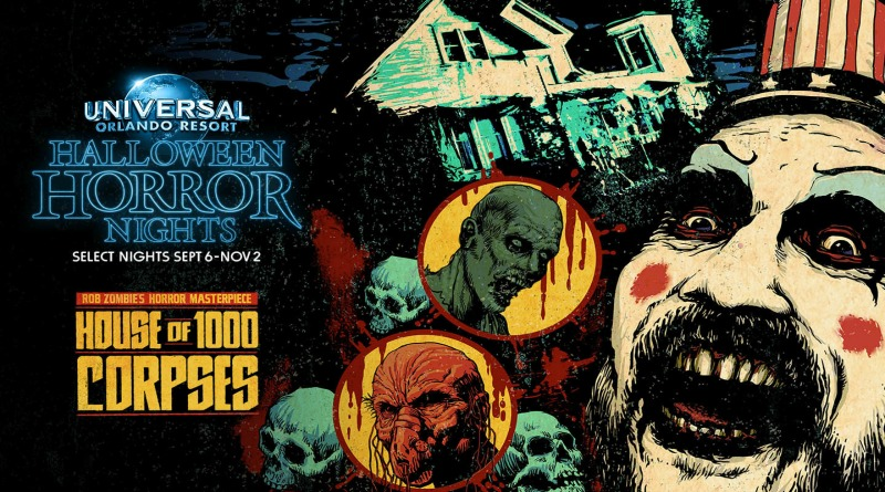 'House of 1000 Corpses' Inspires All-New Twisted Halloween Horror Nights Maze