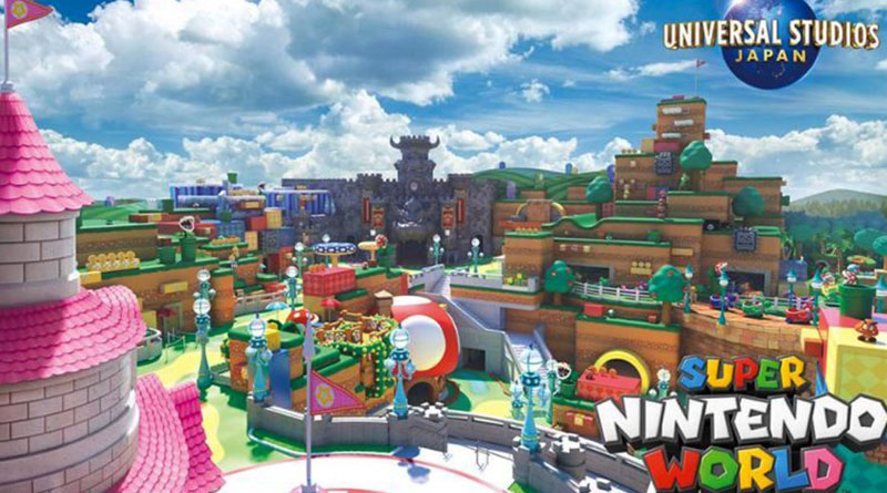 Super Nintendo World at Universal Studios Japan Set to Open in 2021