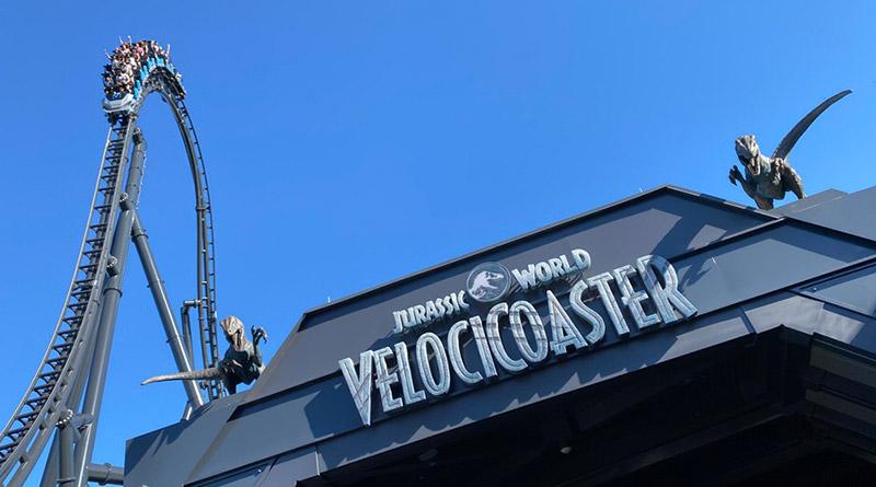 VIDEO: Jurassic World VelociCoaster Queue Tour + Preshow Videos